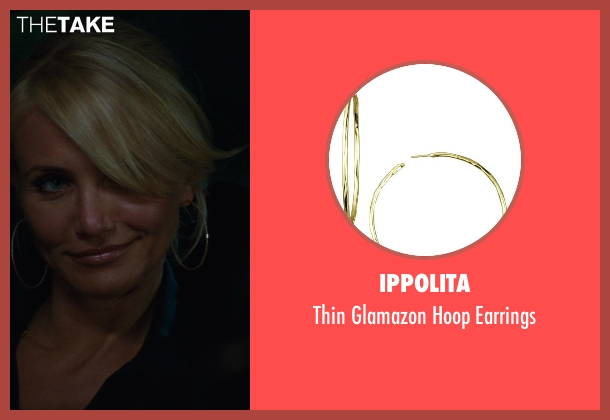Ippolita	 gold earrings from The Other Woman seen with Cameron Diaz (Carly Whitten)