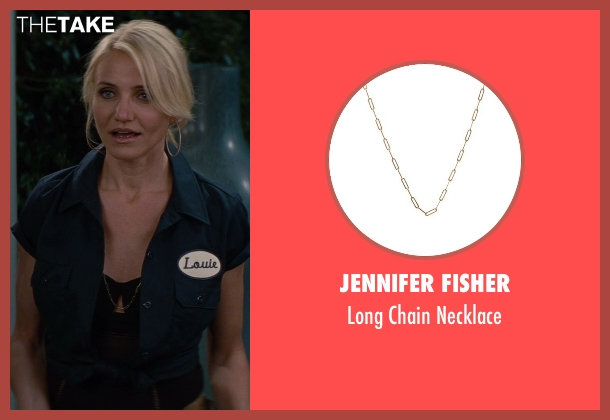 Jennifer Fisher gold necklace from The Other Woman seen with Cameron Diaz (Carly Whitten)