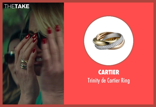 Cartier gold ring from The Other Woman seen with Cameron Diaz (Carly Whitten)