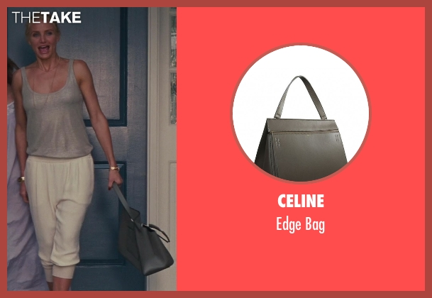 Celine gray bag from The Other Woman seen with Cameron Diaz (Carly Whitten)