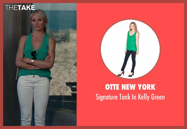 Otte New York green green from The Other Woman seen with Cameron Diaz (Carly Whitten)