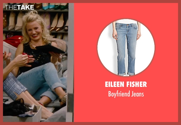 Eileen Fisher jeans from The Other Woman seen with Cameron Diaz (Carly Whitten)