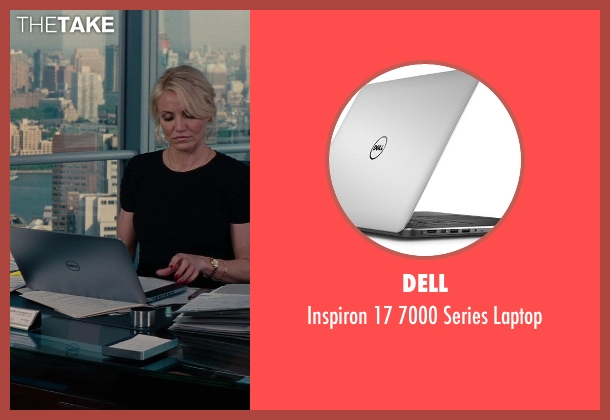 Dell laptop from The Other Woman seen with Cameron Diaz (Carly Whitten)