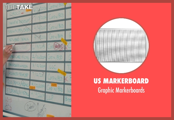 US Markerboard markerboards from The Other Woman seen with Cameron Diaz (Carly Whitten)