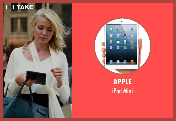 Apple mini from The Other Woman seen with Cameron Diaz (Carly Whitten)