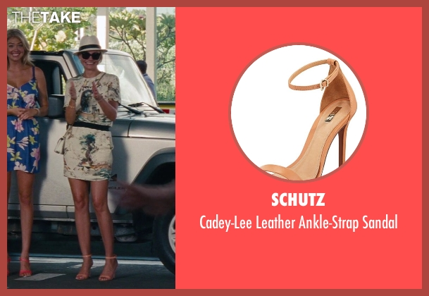 Schutz orange sandal from The Other Woman seen with Cameron Diaz (Carly Whitten)