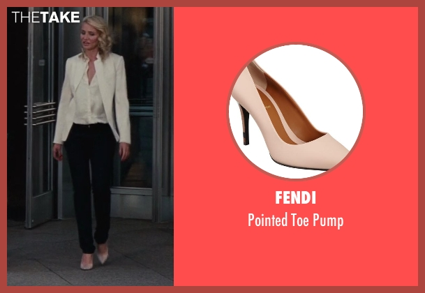 Fendi pink pump from The Other Woman seen with Cameron Diaz (Carly Whitten)