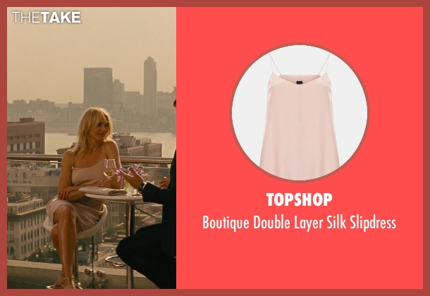 Topshop pink slipdress from The Other Woman seen with Cameron Diaz (Carly Whitten)