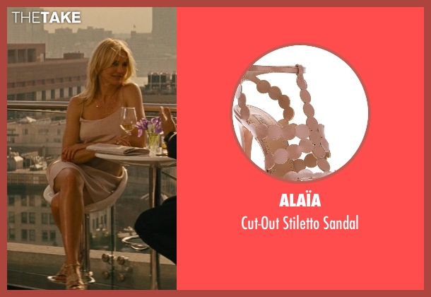 Alaïa sandal from The Other Woman seen with Cameron Diaz (Carly Whitten)