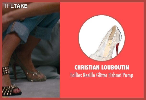 Christian Louboutin silver pump from The Other Woman seen with Cameron Diaz (Carly Whitten)