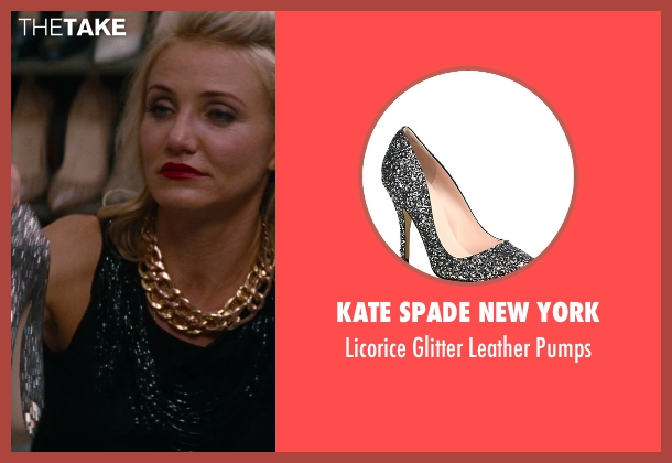 Kate Spade New York silver pumps from The Other Woman seen with Cameron Diaz (Carly Whitten)