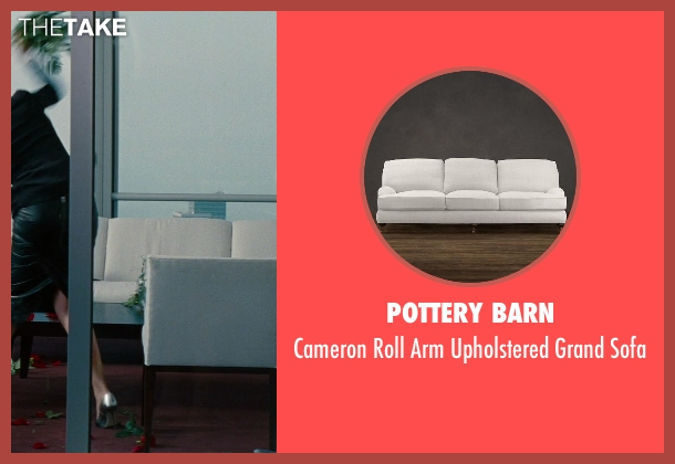 Pottery Barn sofa from The Other Woman seen with Cameron Diaz (Carly Whitten)
