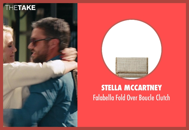 Stella Mccartney white clutch from The Other Woman seen with Cameron Diaz (Carly Whitten)