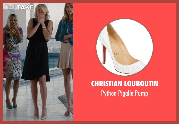 Christian Louboutin white pump from The Other Woman seen with Cameron Diaz (Carly Whitten)