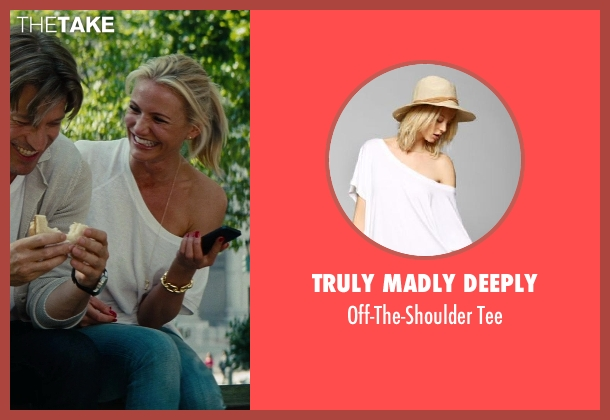 Truly Madly Deeply white tee from The Other Woman seen with Cameron Diaz (Carly Whitten)
