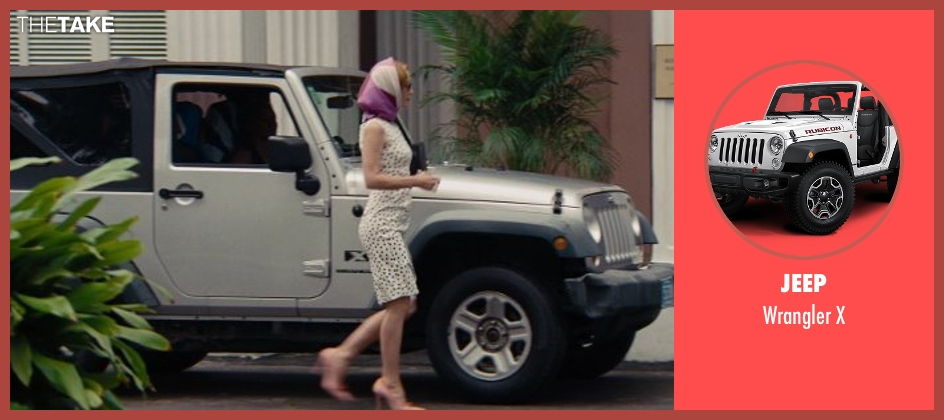Jeep x from The Other Woman seen with Cameron Diaz