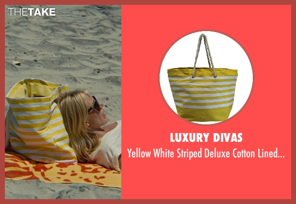 Luxury Divas yellow bag from The Other Woman seen with Cameron Diaz (Carly Whitten)