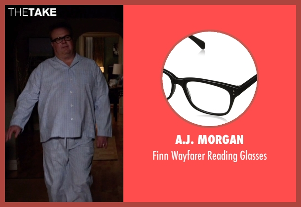 A.J. Morgan black glasses from Modern Family seen with Cameron Tucker  (Eric Stonestreet)