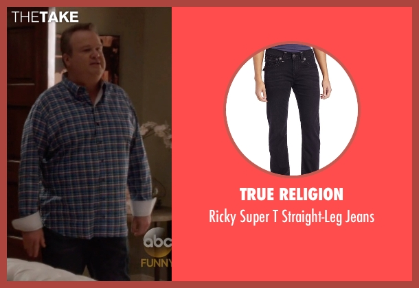 True Religion black jeans from Modern Family seen with Cameron Tucker  (Eric Stonestreet)