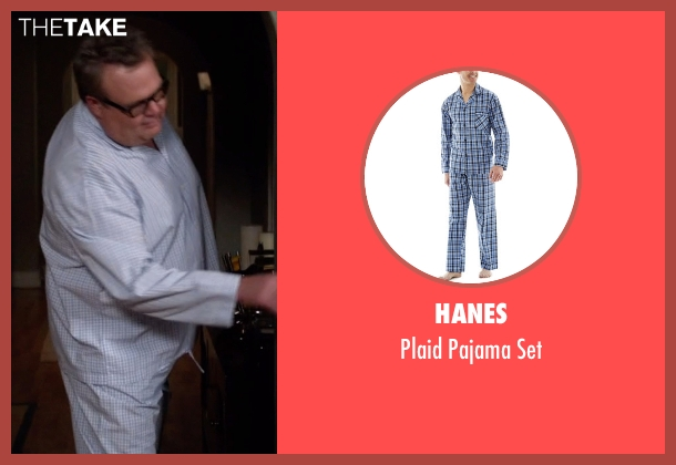 Hanes blue set from Modern Family seen with Cameron Tucker  (Eric Stonestreet)