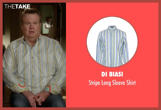 Di Biasi shirt from Modern Family seen with Cameron Tucker  (Eric Stonestreet)