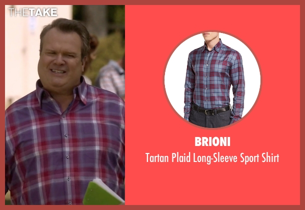 Brioni shirt from Modern Family seen with Cameron Tucker  (Eric Stonestreet)