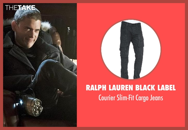 Ralph Lauren Black Label black jeans from The Flash seen with Captain Cold (Wentworth Miller)