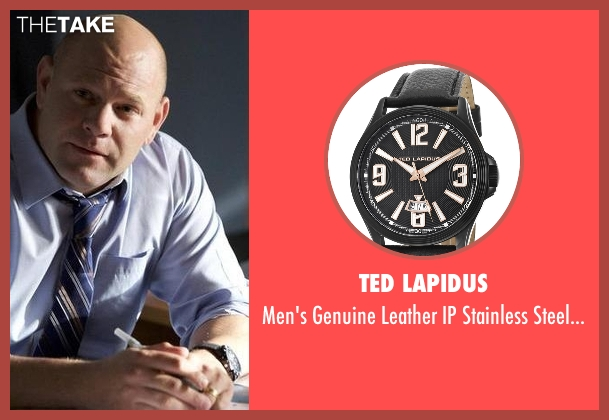 Ted Lapidus black watch from Rosewood seen with Captain Ira Hornstock (Domenick Lombardozzi)