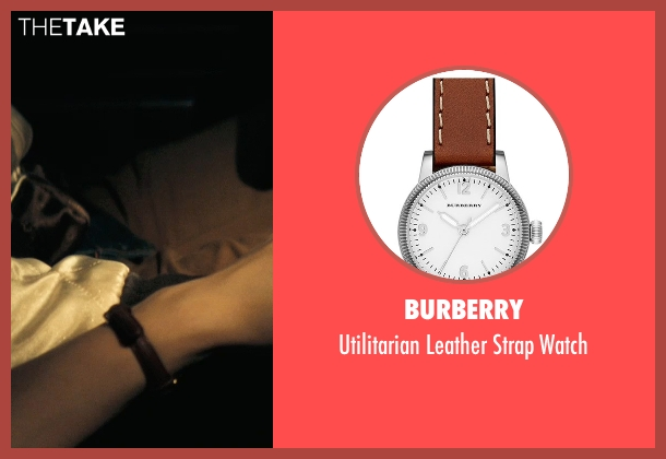 Burberry brown watch from Drive seen with Carey Mulligan (Irene)