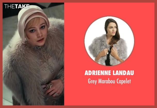 Adrienne Landau capelet from The Great Gatsby seen with Carey Mulligan (Daisy Buchanan)