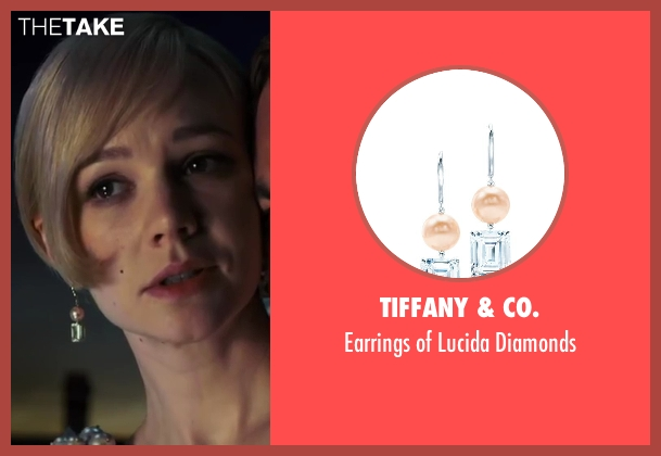 Tiffany & Co. diamonds from The Great Gatsby seen with Carey Mulligan (Daisy Buchanan)