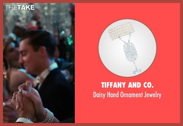 Tiffany and Co. jewelry from The Great Gatsby seen with Carey Mulligan (Daisy Buchanan)