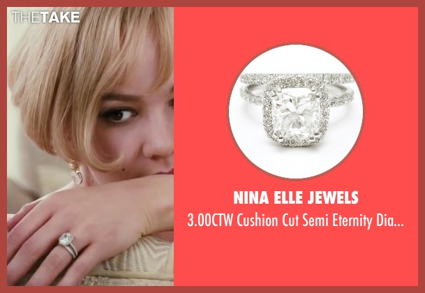 Nina Elle Jewels set from The Great Gatsby seen with Carey Mulligan (Daisy Buchanan)