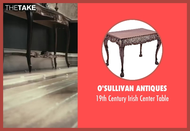 O'Sullivan Antiques table from The Great Gatsby seen with Carey Mulligan (Daisy Buchanan)