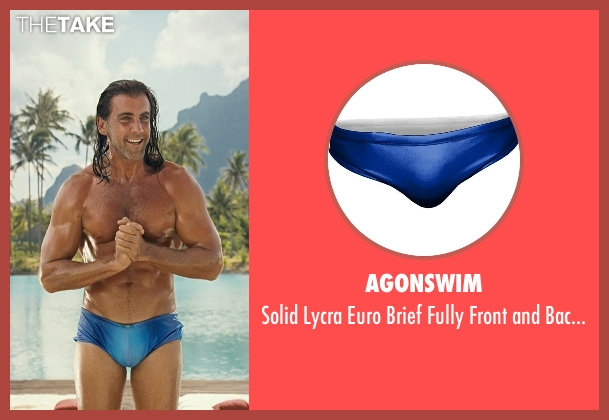 AgonSwim blue lined from Couple's Retreat seen with Carlos Ponce (Salvadore)