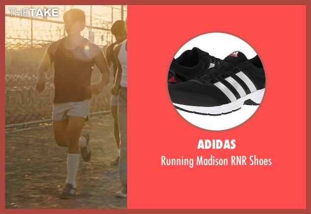 Adidas black shoes from McFarland, USA seen with Carlos Pratts (Thomas)