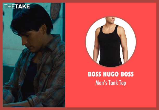 Boss Hugo Boss black top from McFarland, USA seen with Carlos Pratts (Thomas)