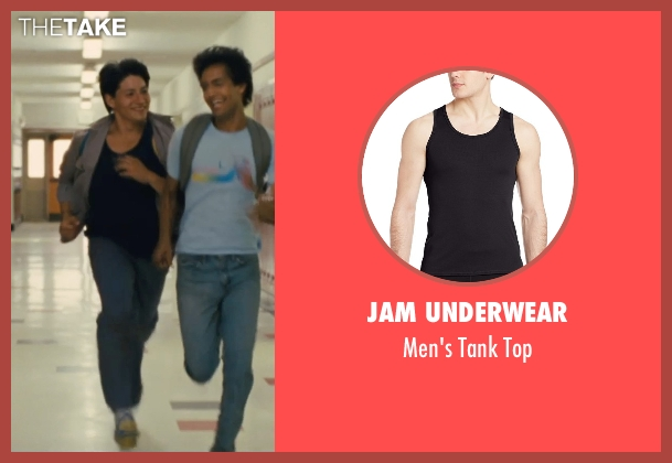 Jam Underwear black top from McFarland, USA seen with Carlos Pratts (Thomas)