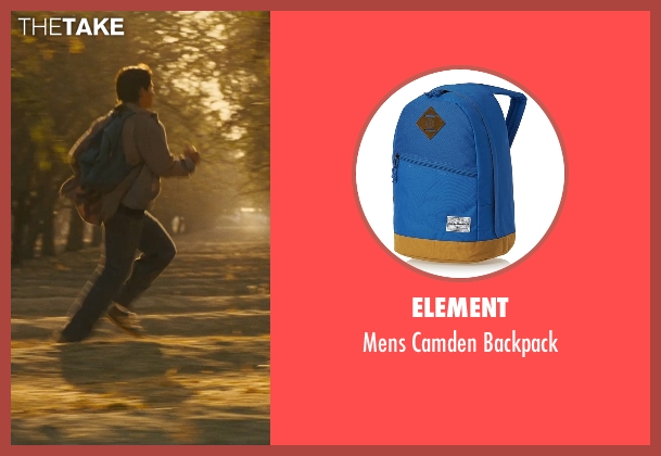 Element blue backpack from McFarland, USA seen with Carlos Pratts (Thomas)