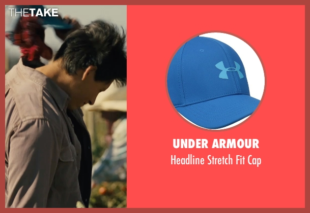 Under Armour blue cap from McFarland, USA seen with Carlos Pratts (Thomas)