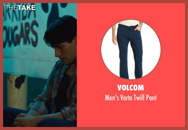 Volcom blue pant from McFarland, USA seen with Carlos Pratts (Thomas)
