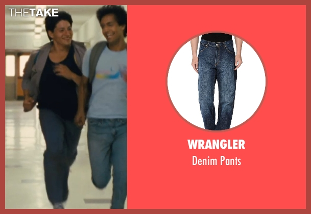 Wrangler blue pants from McFarland, USA seen with Carlos Pratts (Thomas)