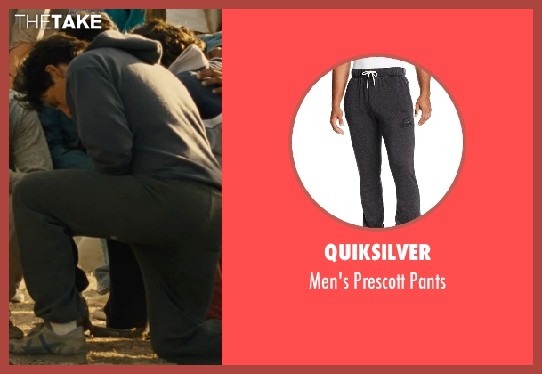 Quiksilver gray pants from McFarland, USA seen with Carlos Pratts (Thomas)
