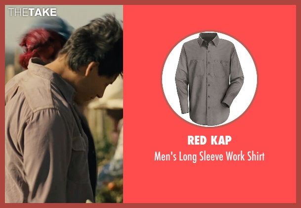 Red Kap gray shirt from McFarland, USA seen with Carlos Pratts (Thomas)