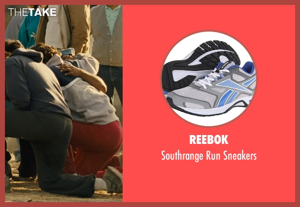 Reebok gray sneakers from McFarland, USA seen with Carlos Pratts (Thomas)