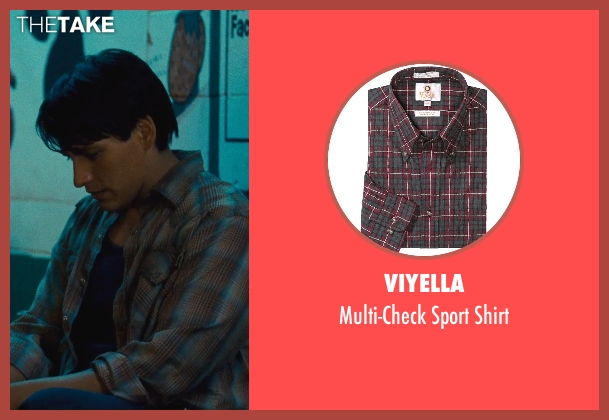 Viyella red shirt from McFarland, USA seen with Carlos Pratts (Thomas)