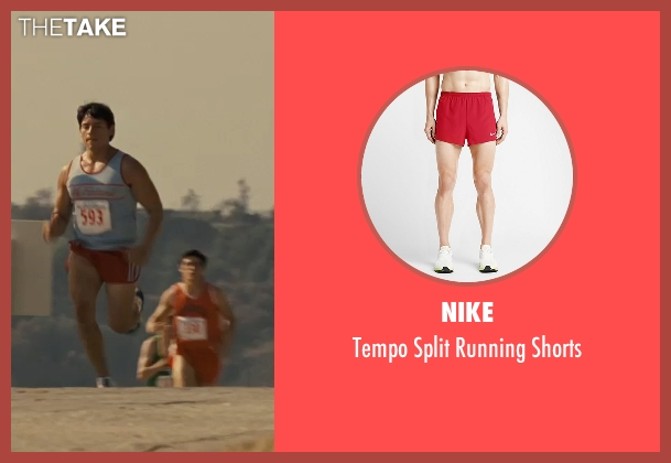 Nike red shorts from McFarland, USA seen with Carlos Pratts (Thomas)