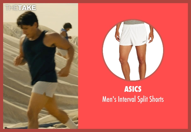 Asics white shorts from McFarland, USA seen with Carlos Pratts (Thomas)