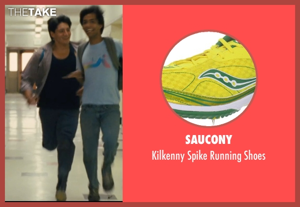 Saucony yellow shoes from McFarland, USA seen with Carlos Pratts (Thomas)