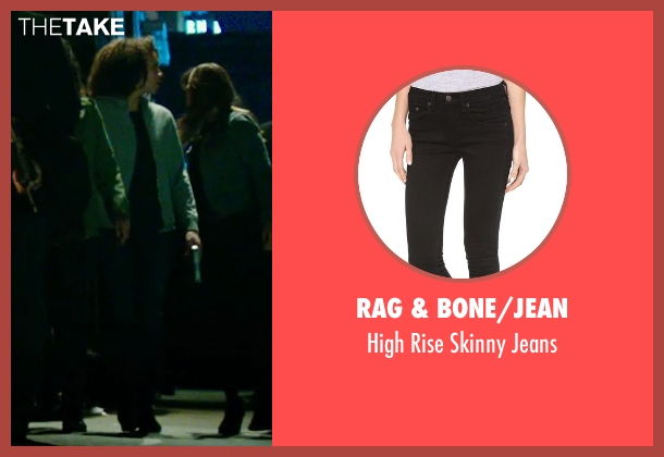 Rag & Bone/Jean black jeans from The Purge: Anarchy seen with Carmen Ejogo (Eva Sanchez)